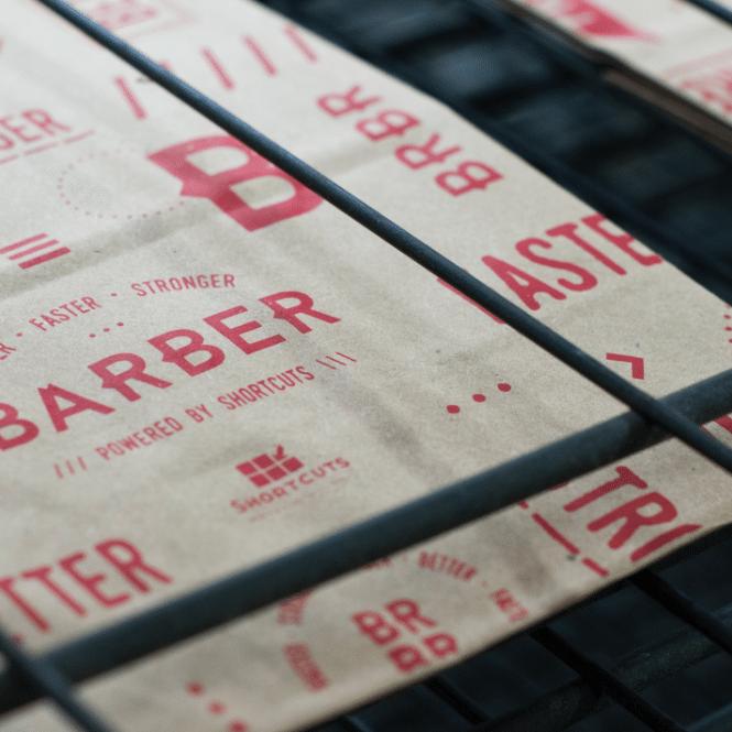 BarberBarber screen-printing