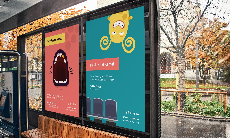 metrolink monsters posters