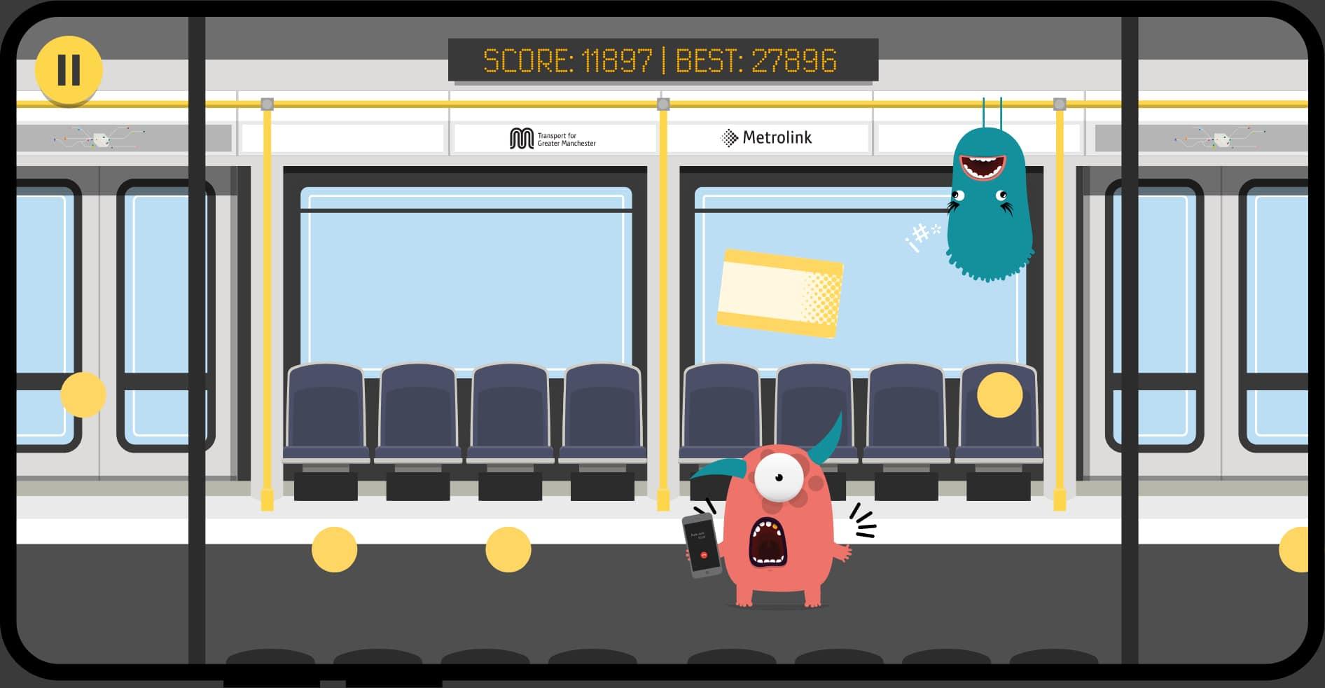 Metrolink Monsters game