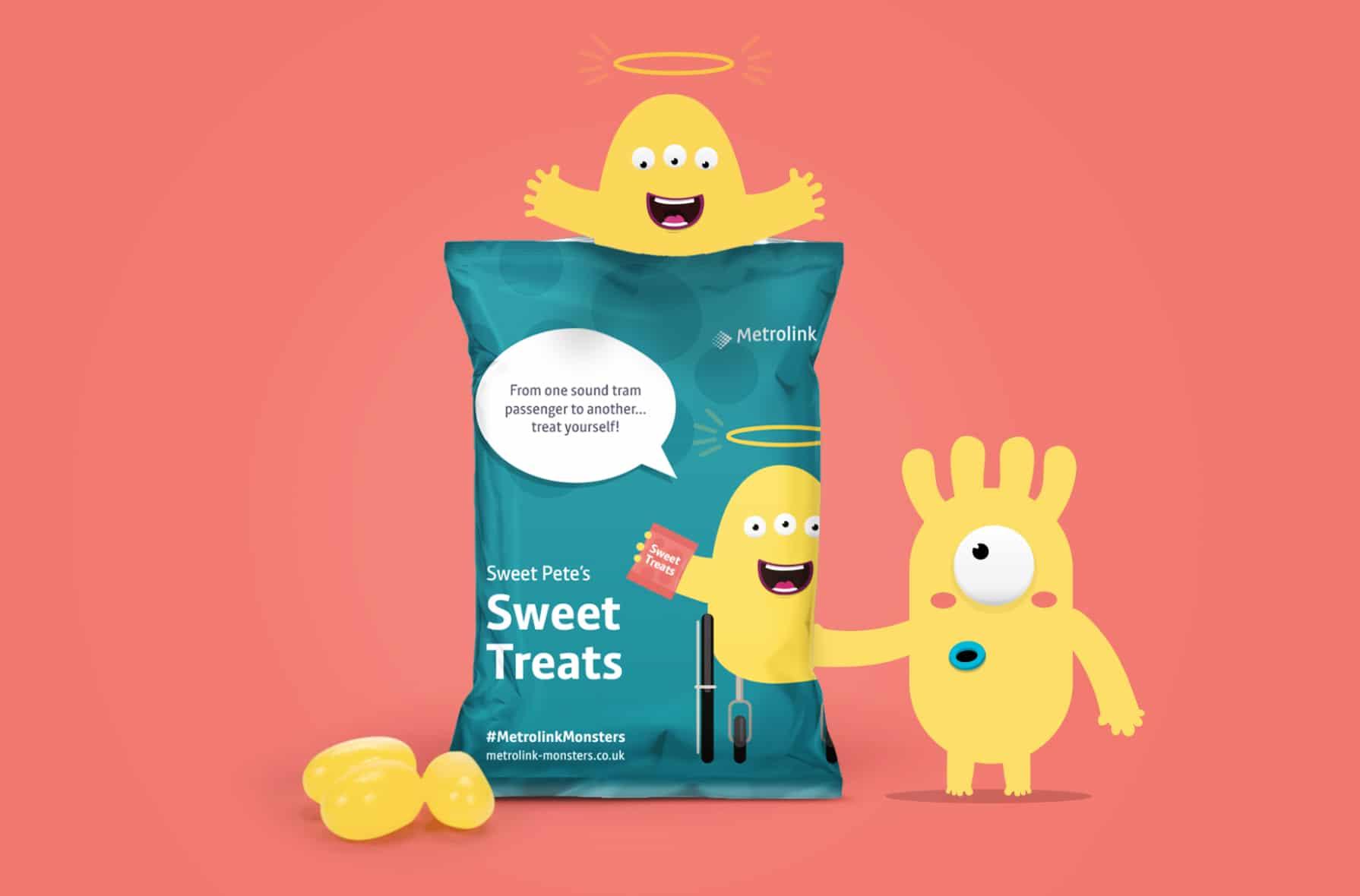 Metrolink Monsters sweets