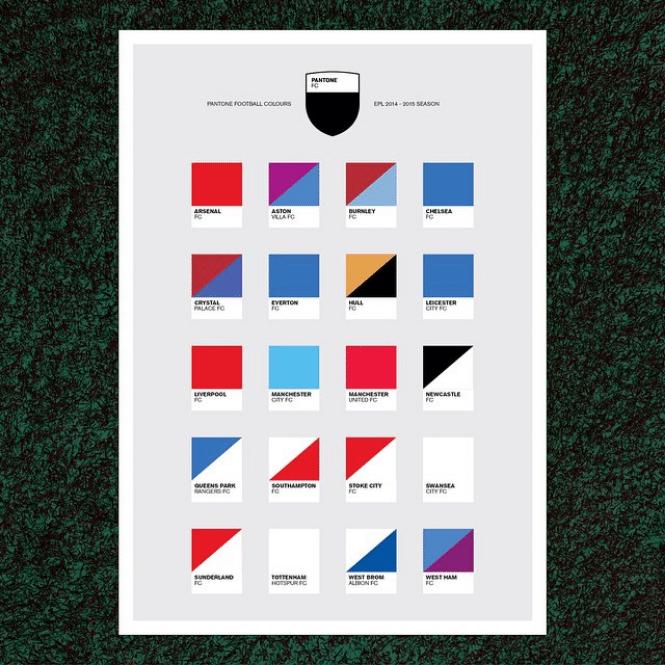 Pantone FC poster