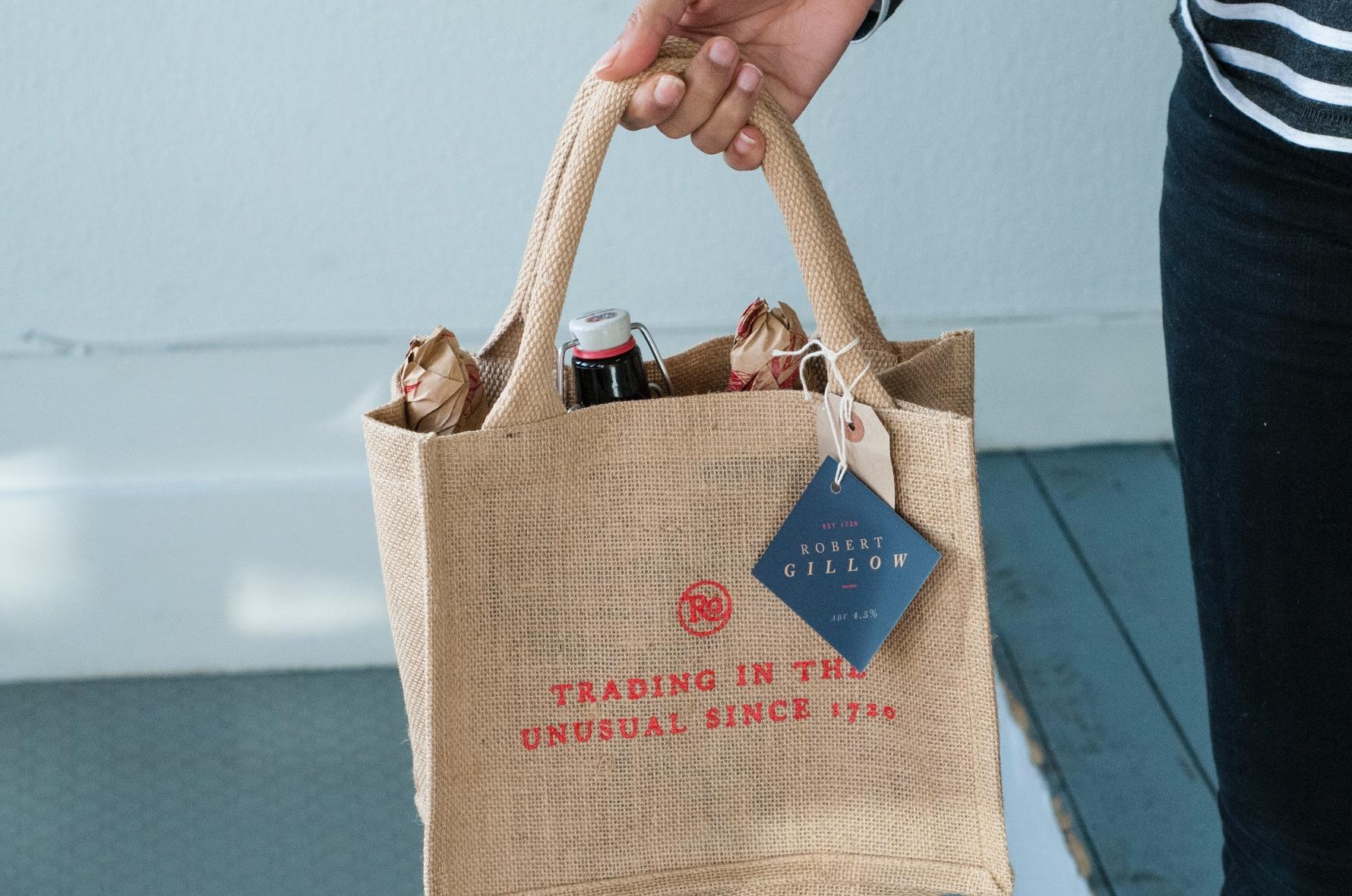 Robert Gillow giveaway bag