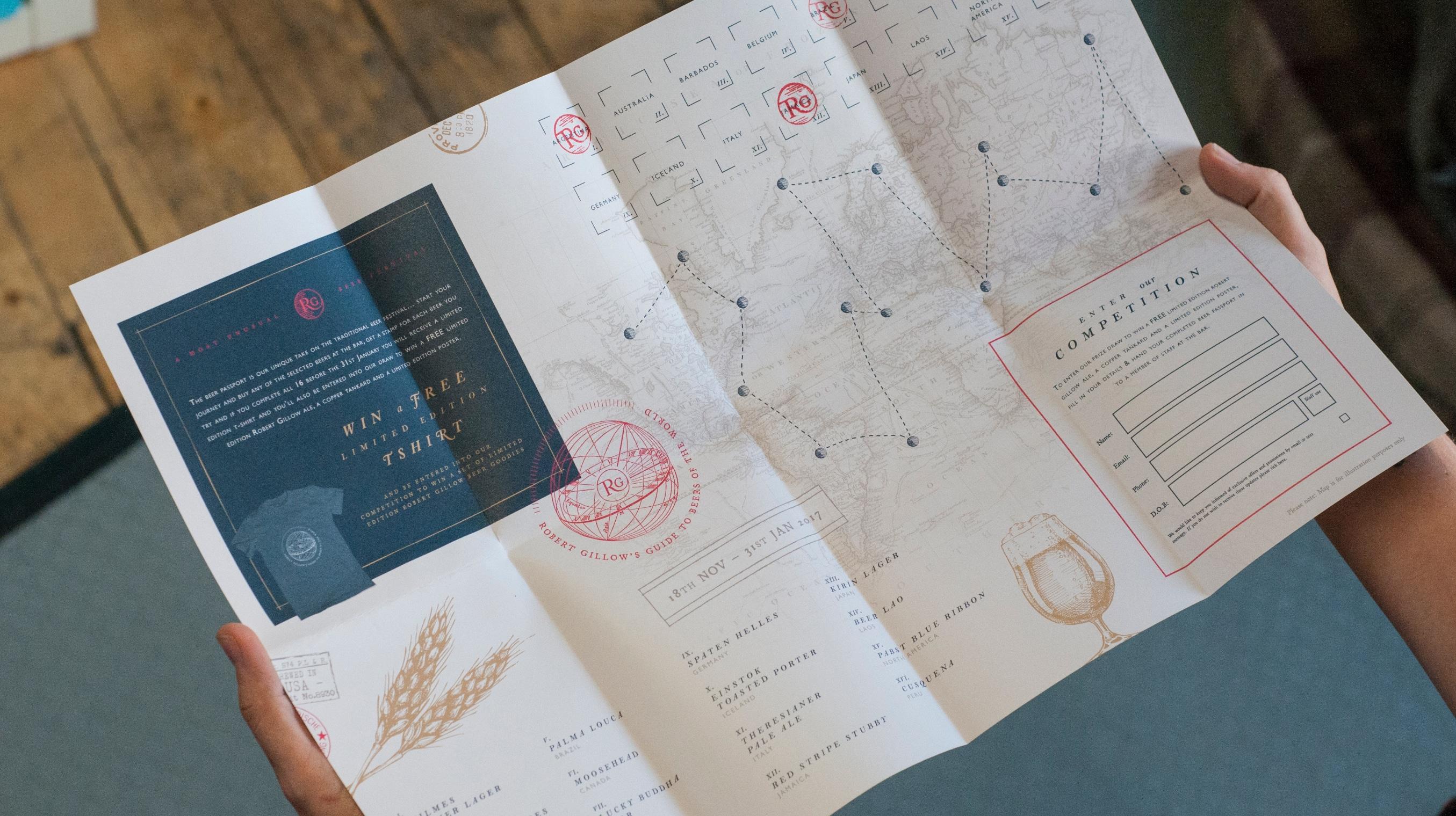 Robert Gillow beer passport