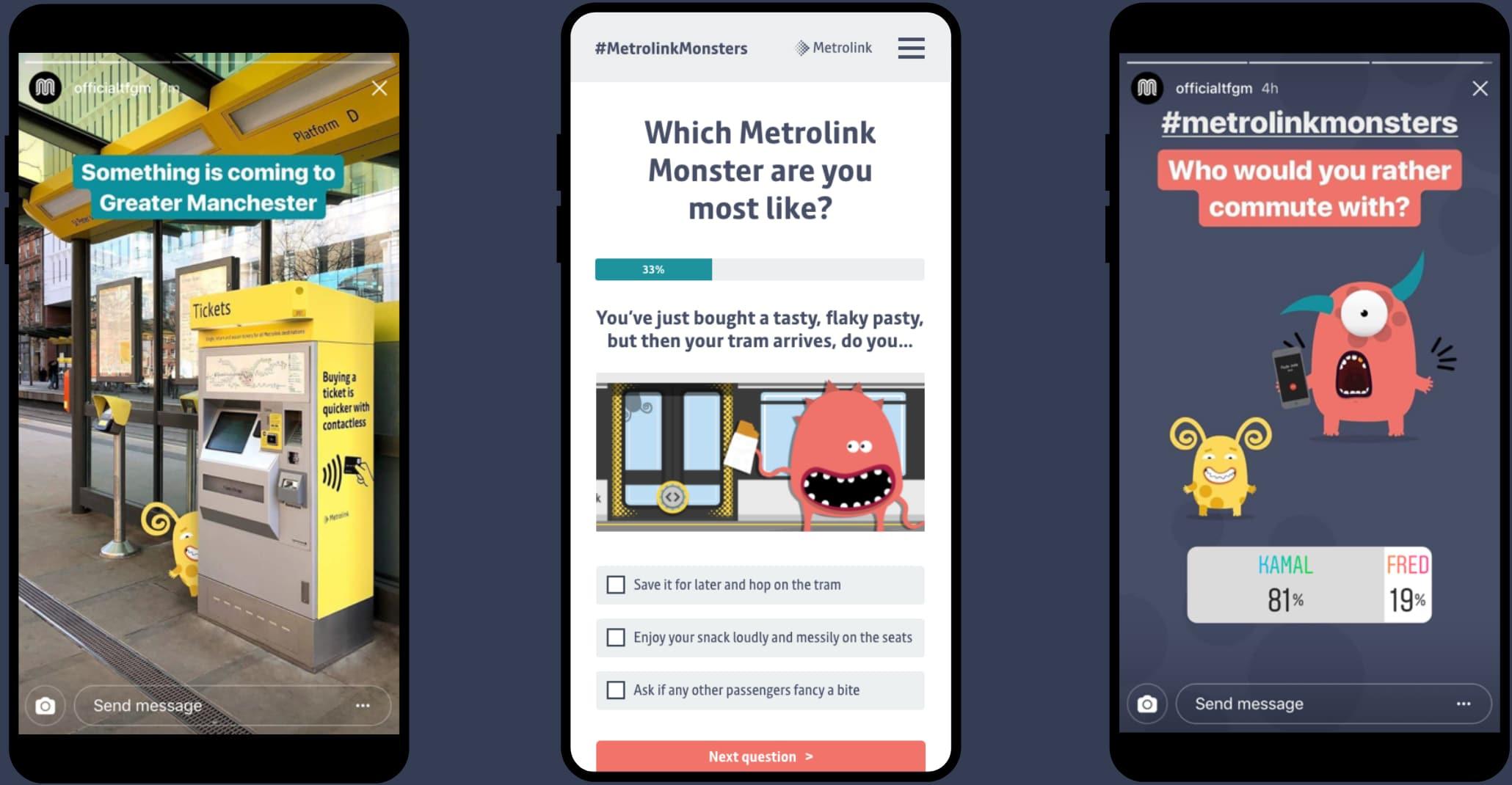 Metrolink Monsters website iphone