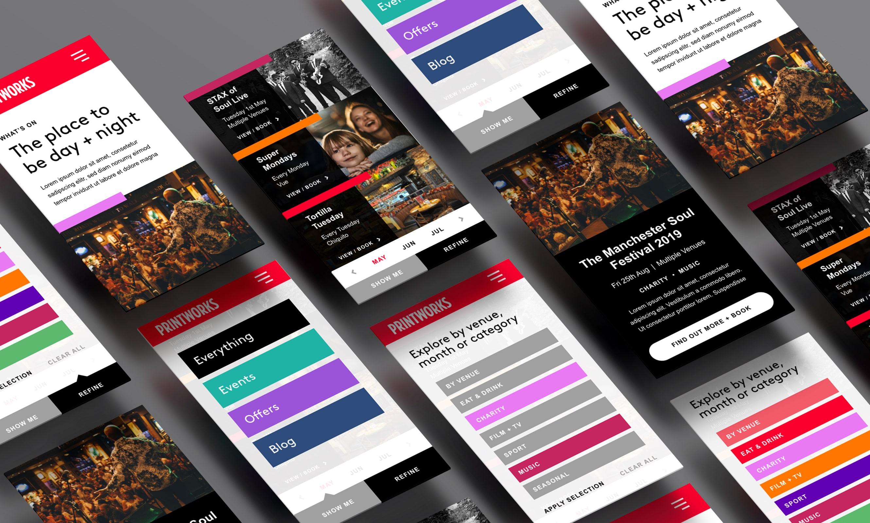 printworks app screens