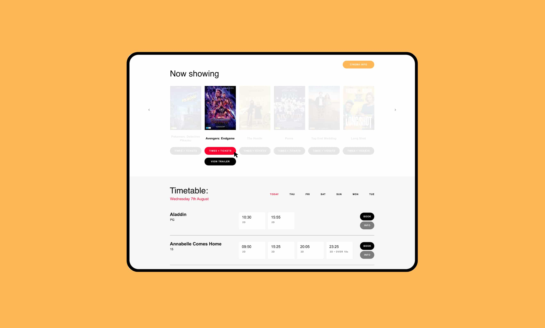 printworks website cinema