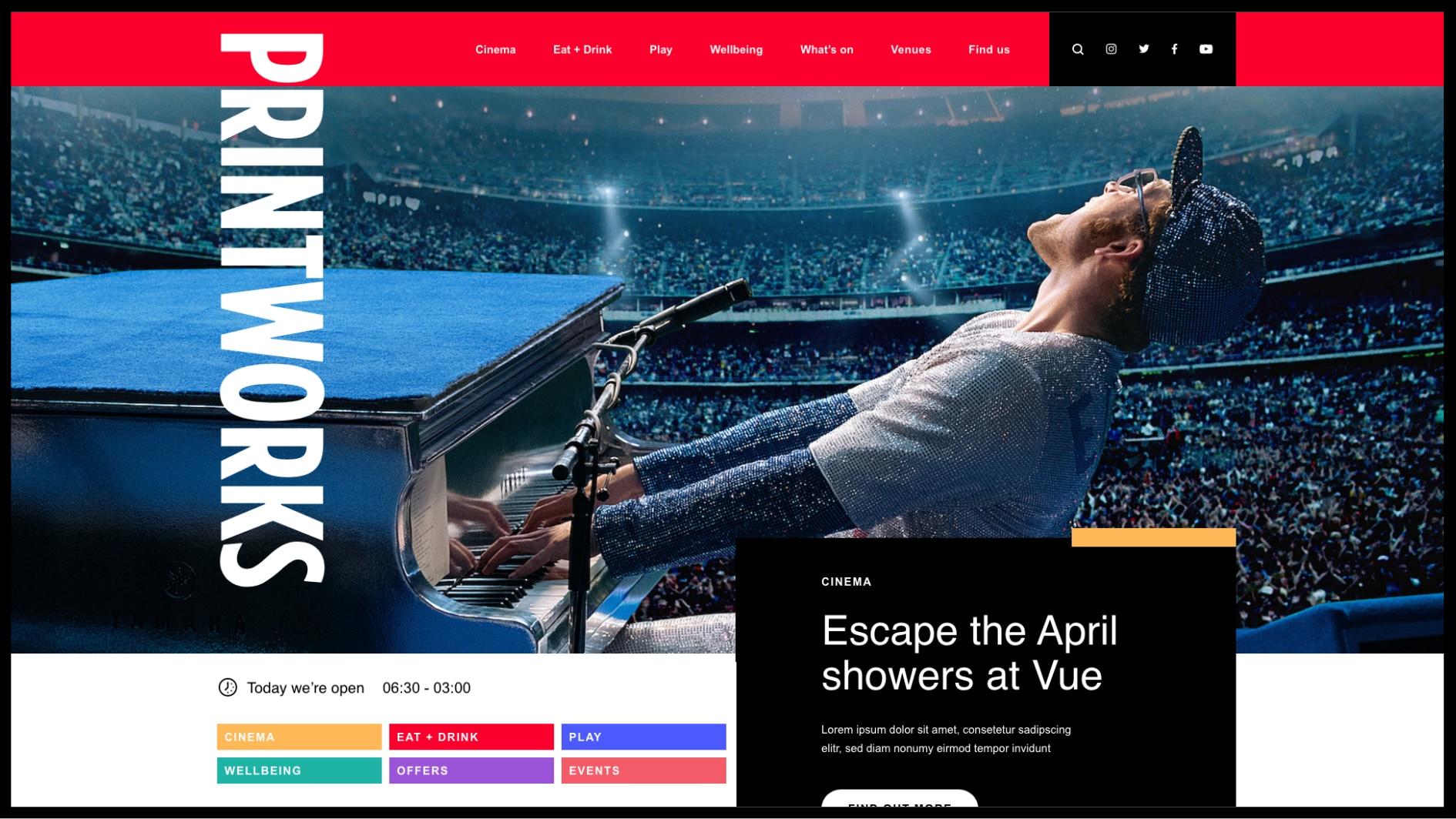 printworks website desktop