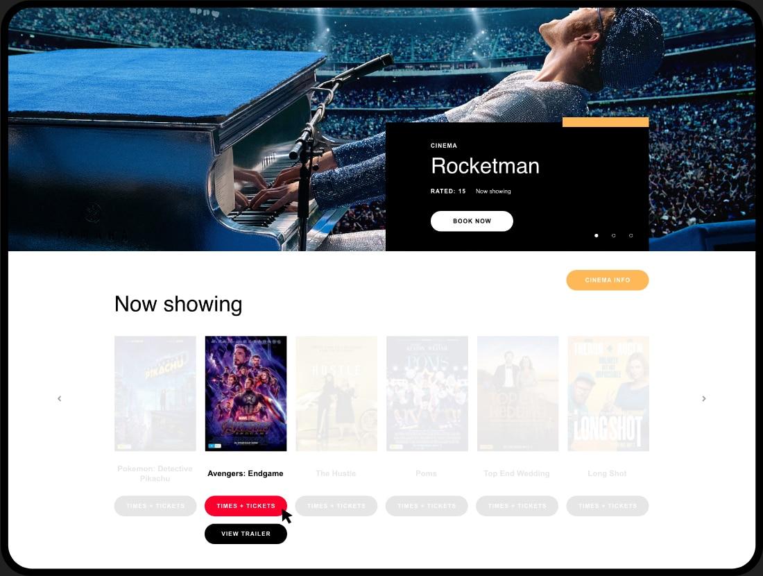printworks ipad cinema