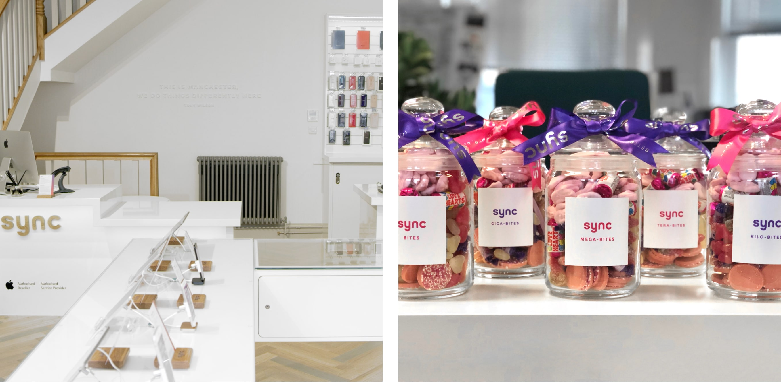sync store and sweets