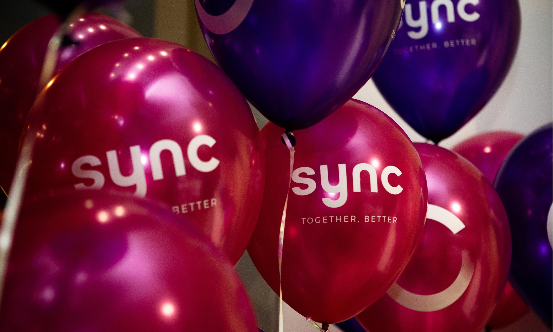 sync balloons